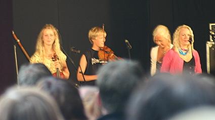 Musikalisk familj spelade