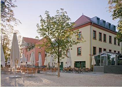 Biergarten på Gerbermüle
