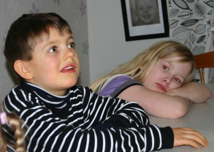 Trötta och hungriga barn?