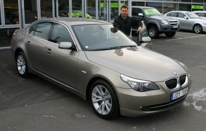 BMW535d front