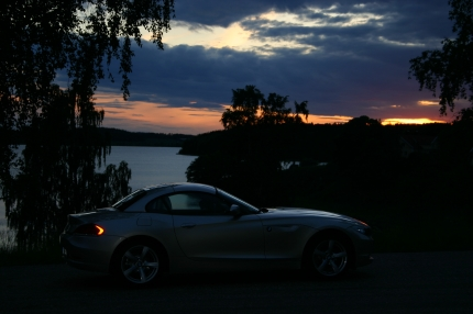 BMW Z4 kvällstur