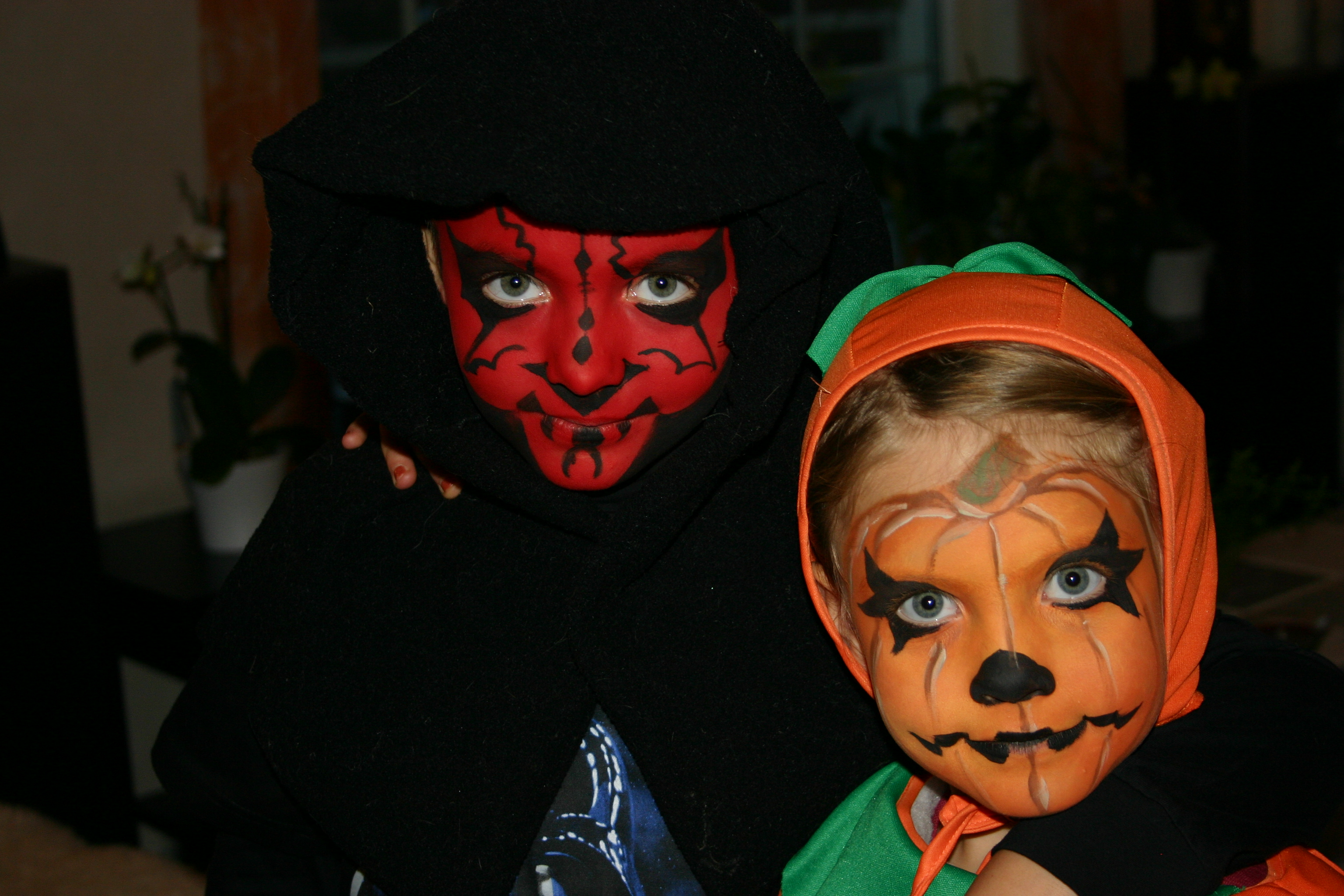 Robert Darth Maul och Aliette pumpa