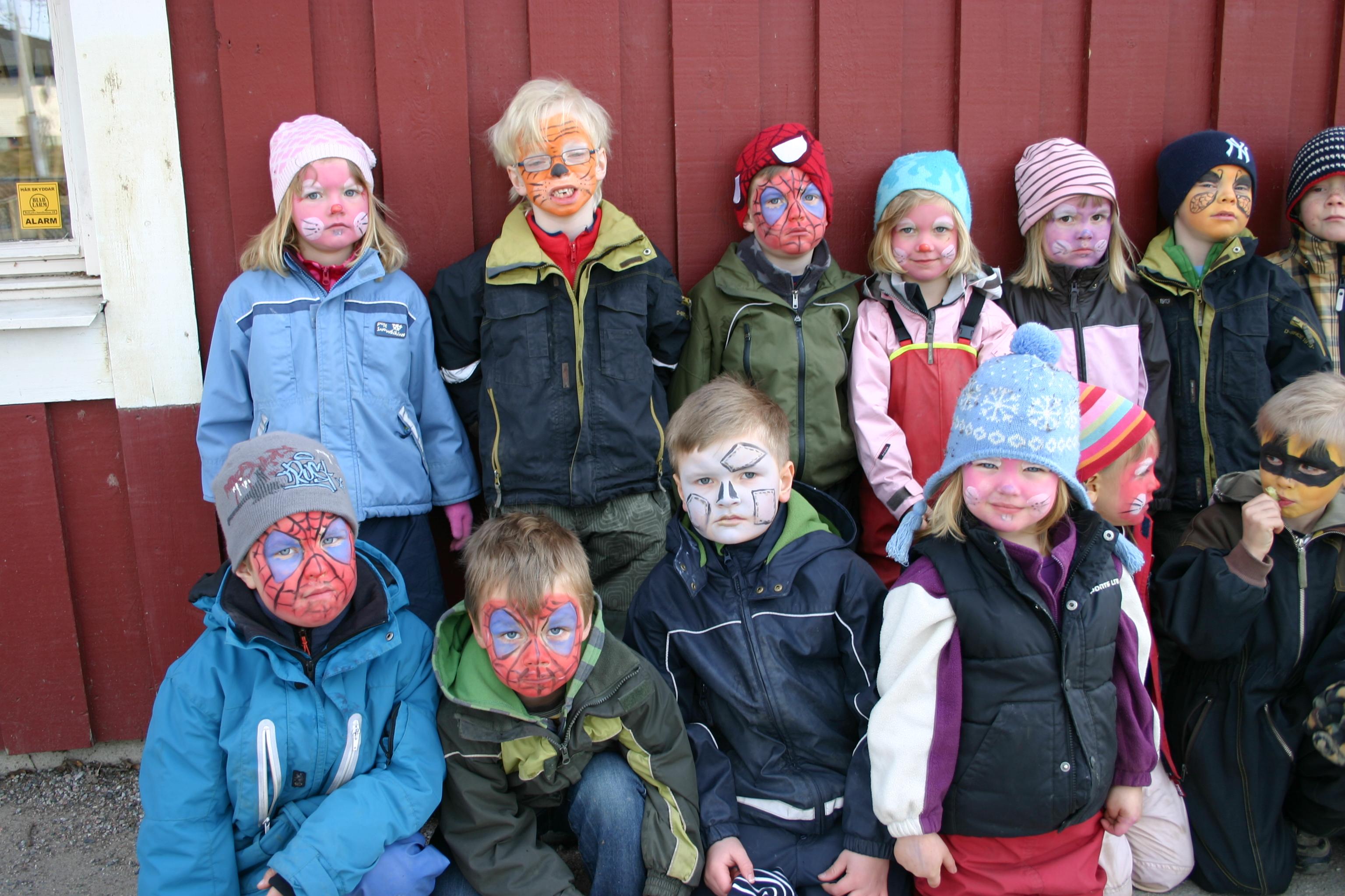 Barnen på Ankaret på Starrbäckens förskola